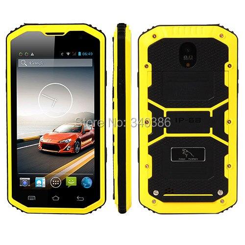 Цена за Hummer H8 Двухъядерный IP68 Прочный Смартфон 5.0 Дюймов Dual Sim карты 5.0MP Камера WI FI GPS Горячие Продажи H6