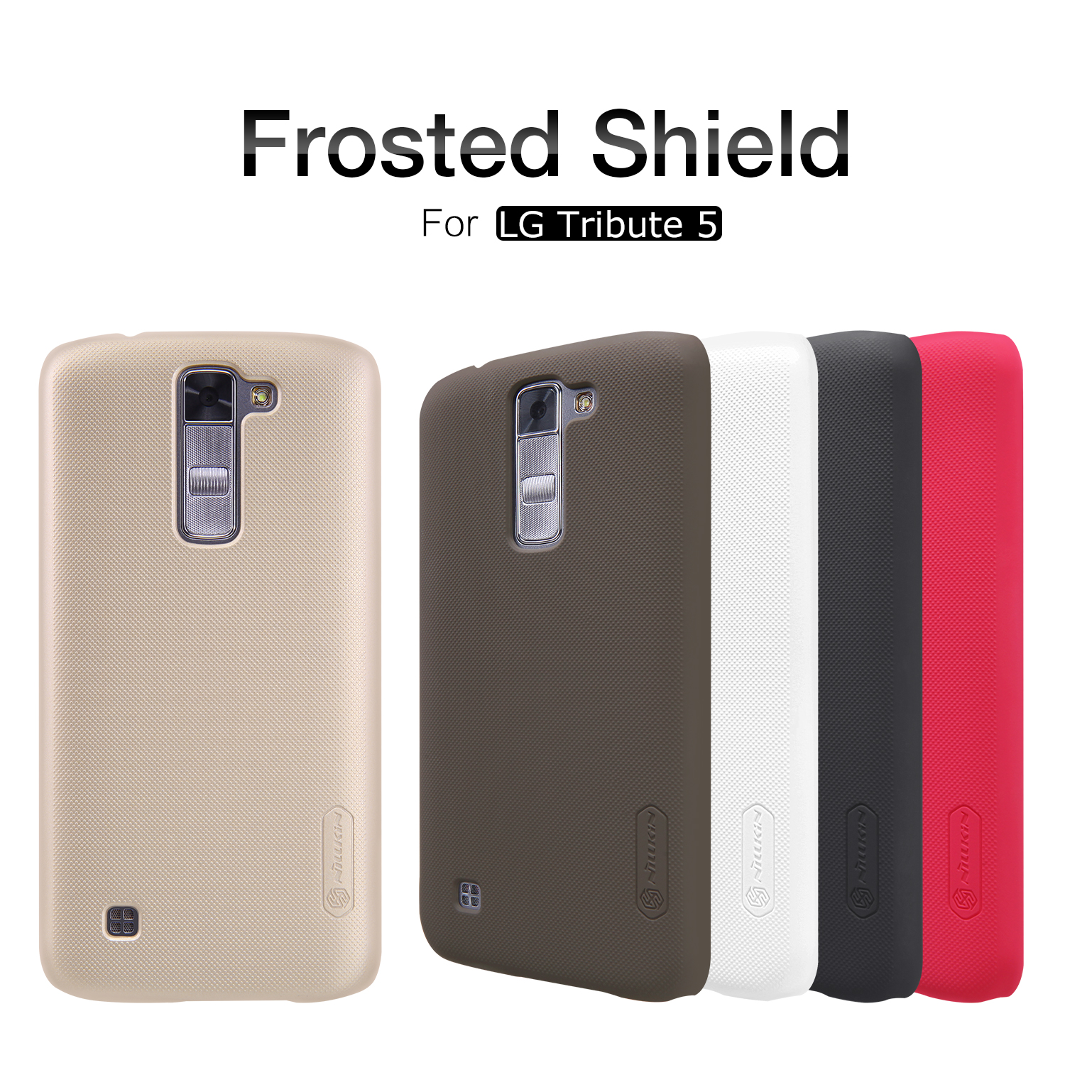 premium selection dd4f4 069bb Nillkin Frosted Shield Phone Case For LG Metro PCS K7 MS330 Hard PC Back  Cover Case free Screen Protector For Tribute 5 LS675-in Fitted Cases from  ...