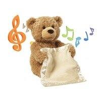 Peekaboo Teddybär Stuffed Weichem Plüsch Spielzeug Puppe Für Kinder