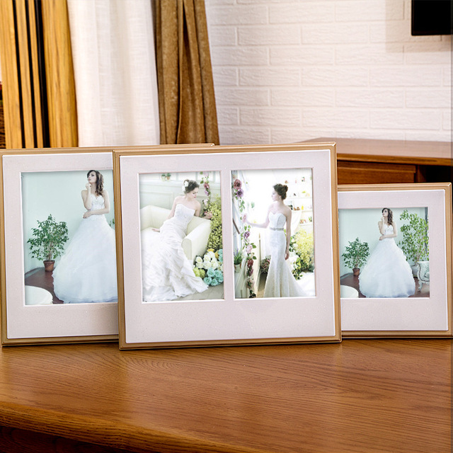 Vintage Photo Frame Wedding Couple Picture Frames Display Family ...