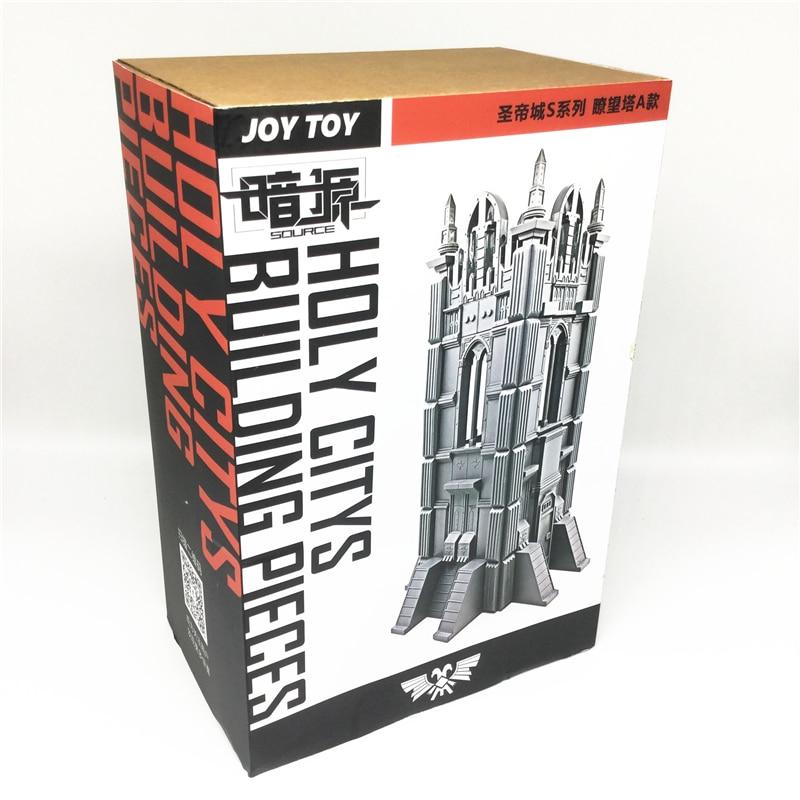 JOY TOY Ho шкала пластиковые модели здания комплект 3D головоломка военная замок блок игрушки для Рождественский подарок к празднику Новый SA 031
