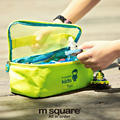 M Square Kids Travel Cosmetic Bag Organizer Storage Bag Toy Organizadore Pouch Multifunction Storage Bag