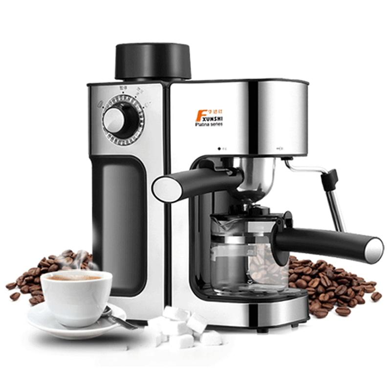 Commercial Steam Espresso Coffee Machine Household Mini Semi - automatic Manual Coffee Maker italy espresso coffee machine semi automatic maker cup warming plate kitchen