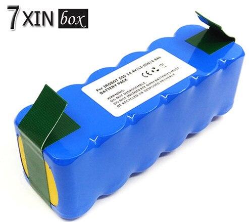 ФОТО 6800mAh Li-ion Battery for iRobot  Room 500 510 540 550 560 564 570 580 600 610 625 700 760 770 Vacuum Cleaner battery 7XINBOX