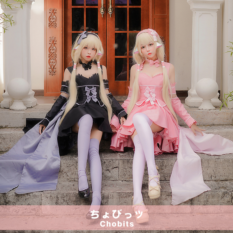 Mcoser Cosplay Chobits-chii Womens Anime 130cm Long Beige Straight Lolita Party Synthetic Hair Full Wig Volume Large Synthetic Wigs Synthetic None-lacewigs