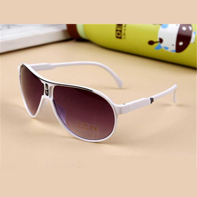 8237d49e304d ... 2018 New Fashion Children Sunglasses Boys Girls Kids Baby Child Sun  Glasses Goggles UV400 mirror glasses ...