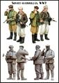 Modelos em escala 1/35 guerrilheiros incluem 2 soldados DA SEGUNDA GUERRA MUNDIAL soviética figura Histórica DA SEGUNDA GUERRA MUNDIAL Resina Modelo Frete Grátis