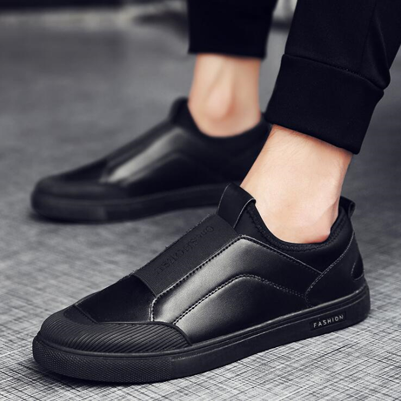 Vende Casual 2018 Lona black De Homens Lazer 44 Dos Moda Quente Couro 39 Wheresroad Sapatilha Estilo gold Plana Sapato White wdtxqOfXX