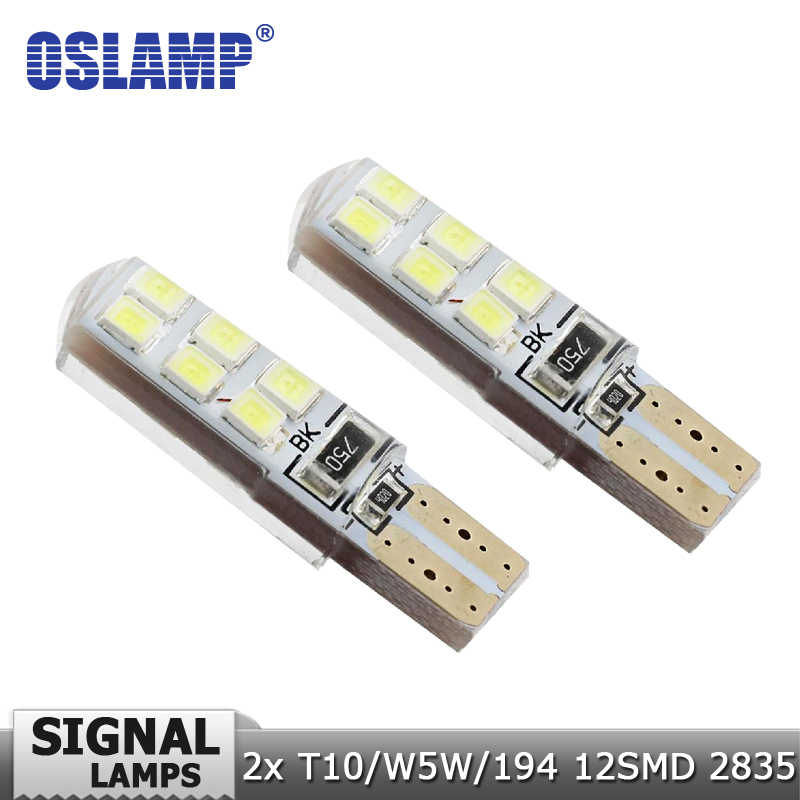 Oslamp T10 W5W 192 Car Led Light Bulb With Canbus SMD LED Clearance Lights Turn Signal Lamp Reading Light Dashboard Door Lights