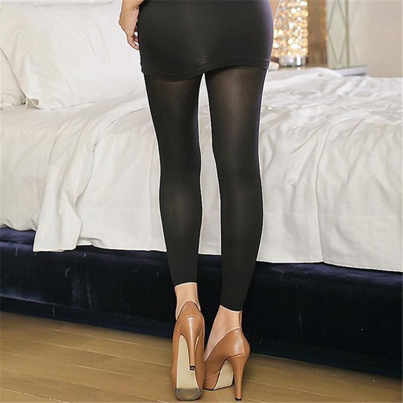 Mulheres da cintura perna body control shaper meias hip elevador emagrecimento calças de nove pontos shapewear quente