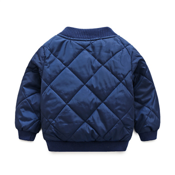 children casual jacket coat kids windproof warm cotton Outerwear baby boy thicken jackets Down Parkas winter children clothing 1