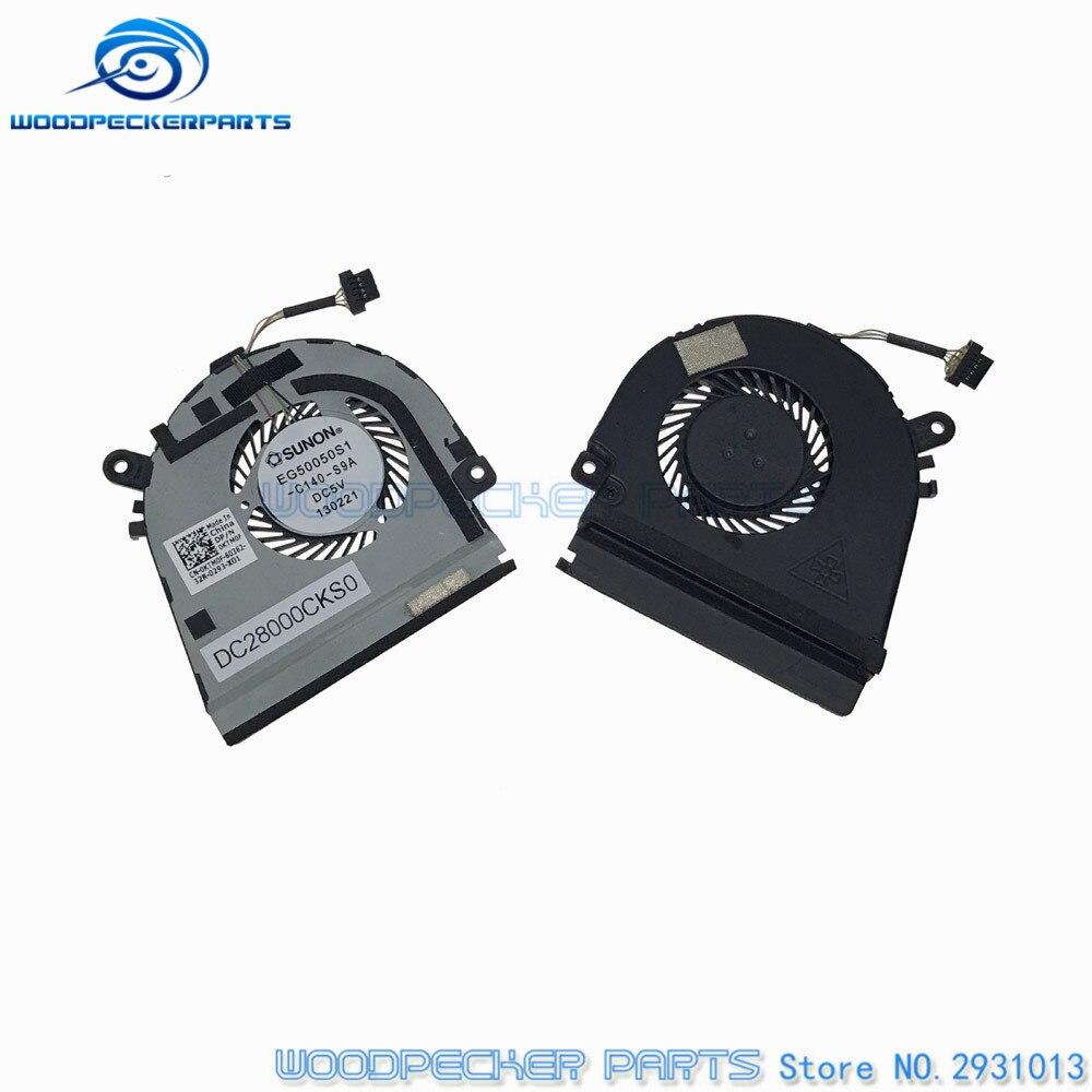 Original Laptop CPU Cooler Fan And Heatsin For DELL XPS 12 XPS12 Ultrabook For SUNON EG50050S1-C040-S9A KTM0F 0KTM0F DC28000CKS0