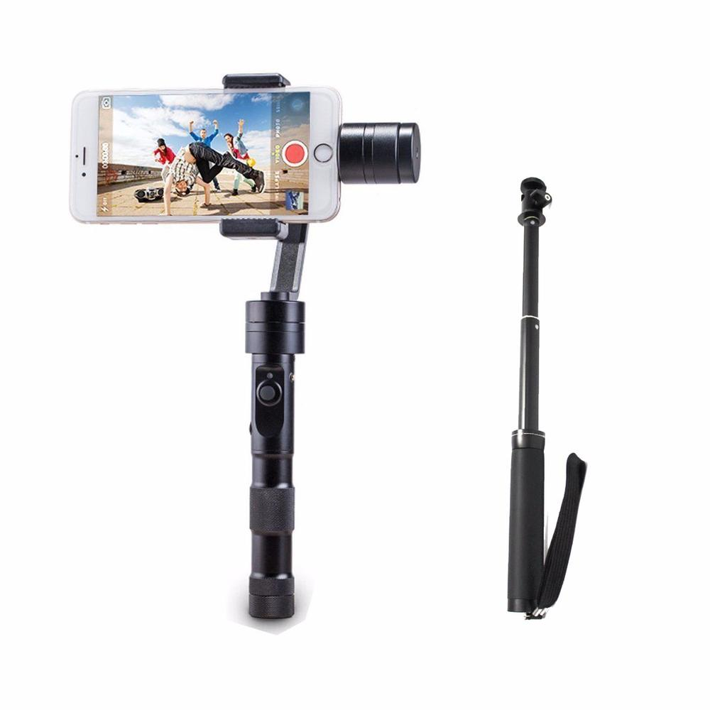 Zhiyun Z1 Smooth C 3 Gimbal smartphone Axis Handheld Joystick Gimbal Steady For iPhone Samsung Dji Osmo Selfie Stick Device yuneec q500 typhoon quadcopter handheld cgo steadygrip gimbal black