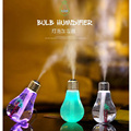 Beautiful Colorful Bulb Humidifier Air Diffuser Purifier Atomizer Essential oil diffuser difusor de aroma mist maker fogger Gift