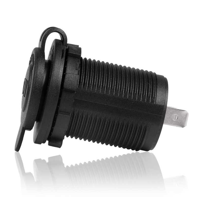 12v Waterproof Car Motorcycle Cigarette Lighter Power Socket Plug