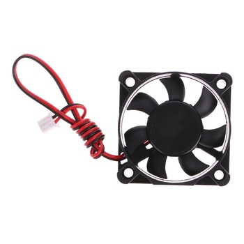 DC 12V 0.12A 2-Pin 50x50x10mm PC Computer CPU System Brushless Cooling Fan 5010 Dropshipping image