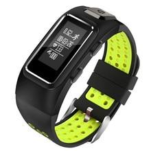 Sensible hand ring GPS positioning coronary heart price,step, train,altitude,monitor,phone reminder waterproof swimming Bluetooth watch