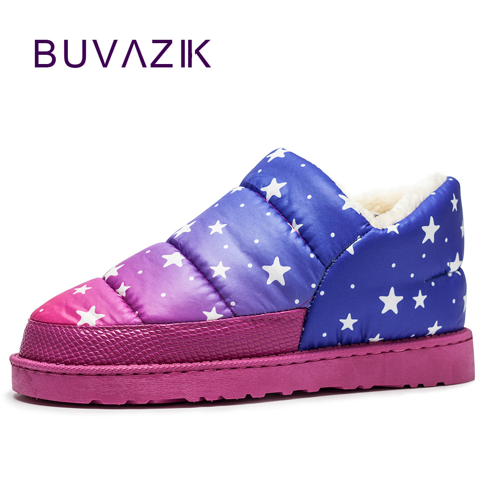 2017 women snow boots waterproof calzado mujer winter sapato feminino womens ankle boots warm outdoor shoes mixed colors