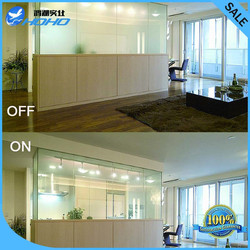 20cm x 20cm Smart Pdlc film for Window glass decoration Switchable smart film Magical privacy film High quality