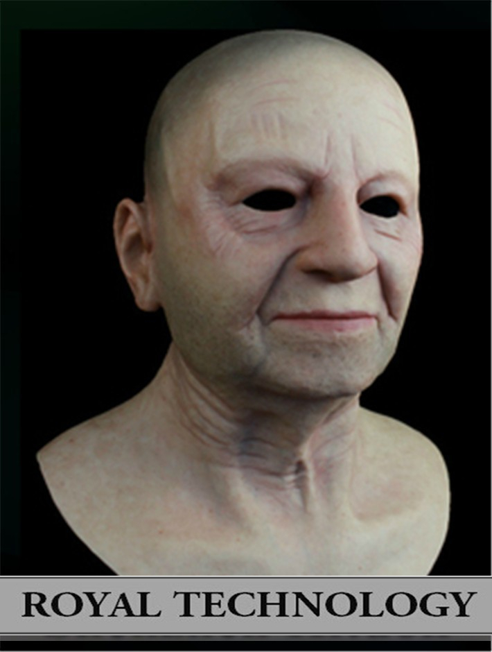 Fn 6 2016 New Top Quality Realistic Silicone Masks Gay -2229