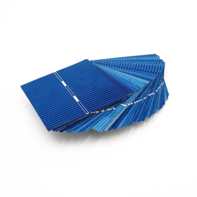 0.43Watt 52X52mm Celle Solari FAI DA TE Pannello Solare Modulo Fotovoltaico Policristallino Solare FAI DA TE Caricabatteria Painel Solare