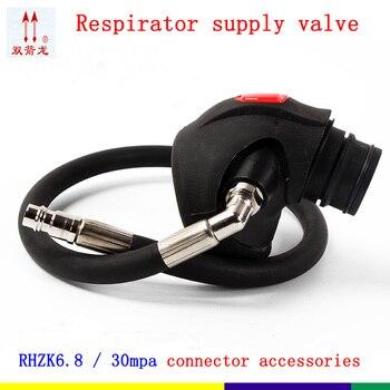 Положительное давление RHZK6.8/30mpa поставка клапана Универсальный противопожарный респиратор Поставка ручной аппарат для искусственной вент...