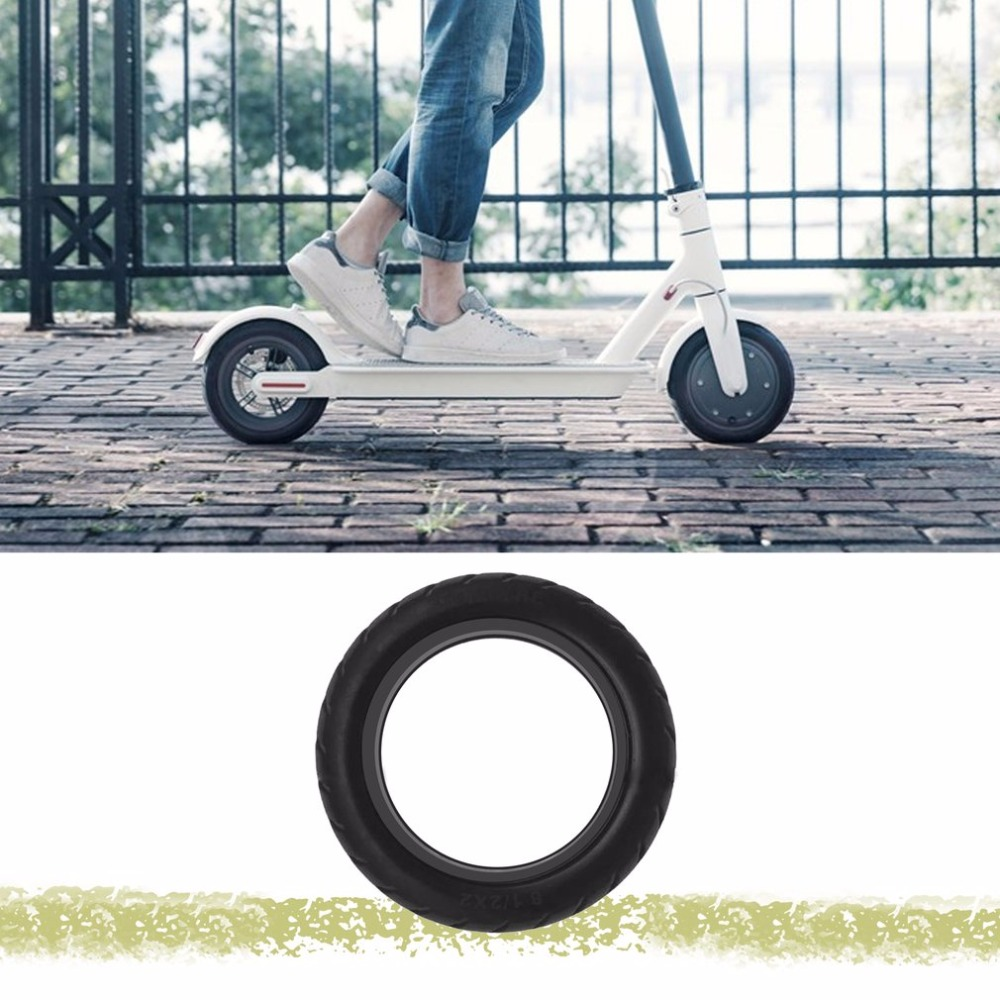 Solid Vacuum Tires 8 1/2X2 Micropores Suitable For Xiaomi Mijia M365 Electric Skateboard Scooter Non-Pneumatic Vacuum Wheel ...