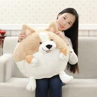 Stuffed Plush Toy Large 55cm Welsh Corgi Dog Soft Doll Throw Pillow Birthday Gift B0997