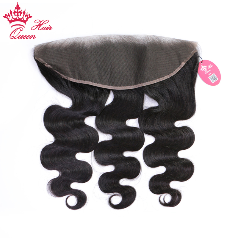 Queen Hair 13x4 Ear to Ear Lace Frontal Peruvian Body Wave Frontal Closure Natural Color Human Hair Remy Closure Free Shipping