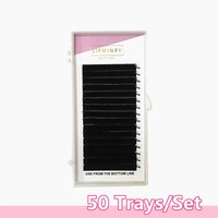 50cases All size,,High quality eyelash extension mink,individual eyelash extension,natural eyelashes,false eyelashes.