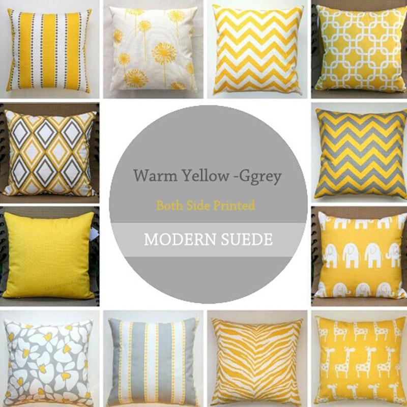ᐃHelen cortina estilo moderno de lujo amortiguador amarillo tira ...