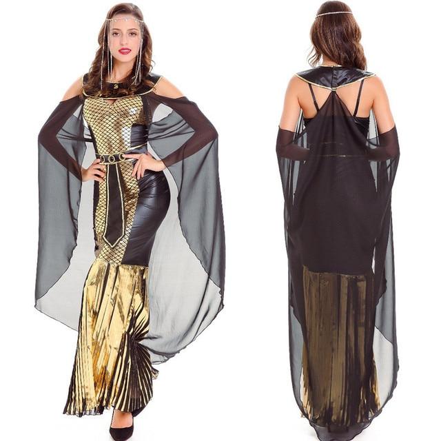 2018 Newest Cleopatra Egyptian Queen Cosplay Fancy Dress Women Greek Goddess Roman Empress Clothing Egypt Queen  sc 1 st  AliExpress.com & 2018 Newest Cleopatra Egyptian Queen Cosplay Fancy Dress Women Greek ...