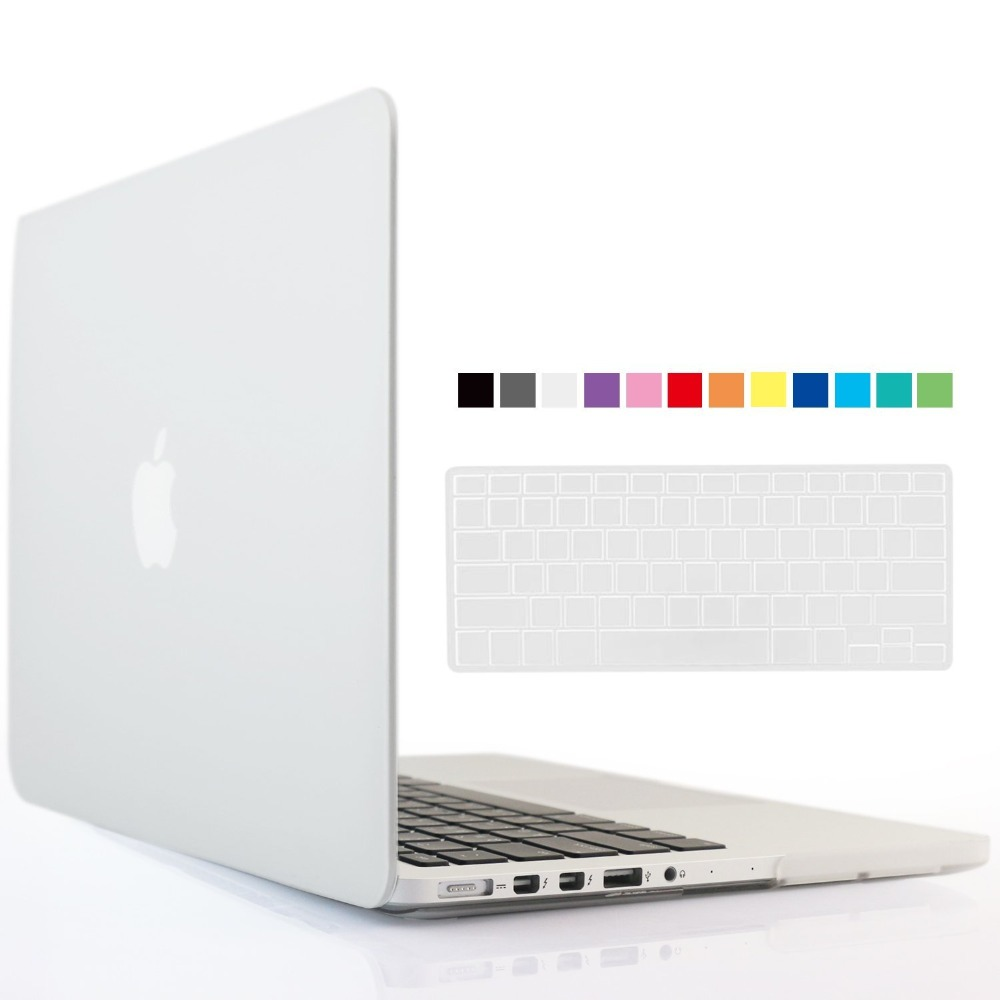 2in1 Transparent Clear Case Cover For Apple MacbookPro