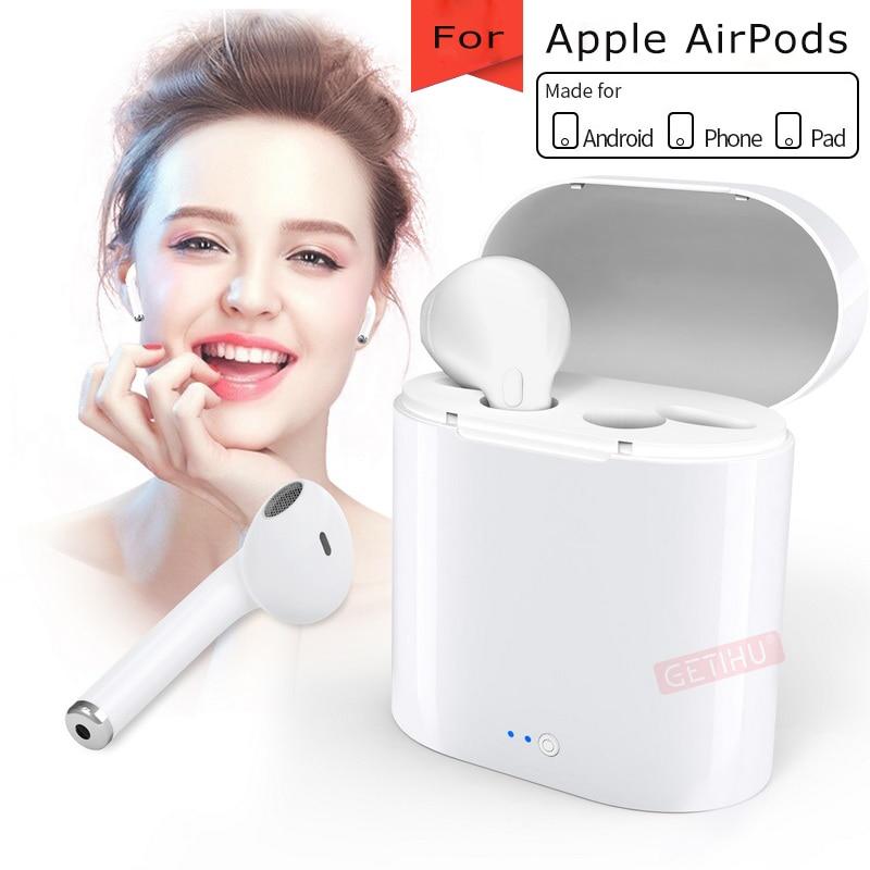 Bluetooth Earphone Sport Headphones For Apple iPhone Xs Wireless Earphones Headphone for Phone Headset in Ear pod Airpods Earbud