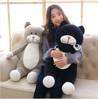 WYZHY station cat plush toy doll home decoration bed pillow to send parent child gifts 100CM