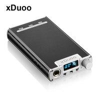 Xduoo xd 05 Портативный аудио ЦАП усилителя наушников 32bit/384 кГц нативный DSD декодирования dsd256 PCM 384 кГц DXD 384 кГц с OLED Дисплей