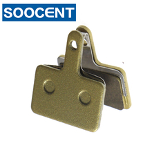 4 Pairs Copper Alloy Sintered Bicycle Brake Pads for Shimano Deore M465 475 515 525/Auriga Comp/Clarks S2 Draco/ Spyre