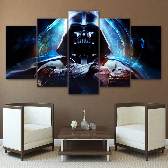 Darth Vader 5 piece Star Wars Canvas Wall Art