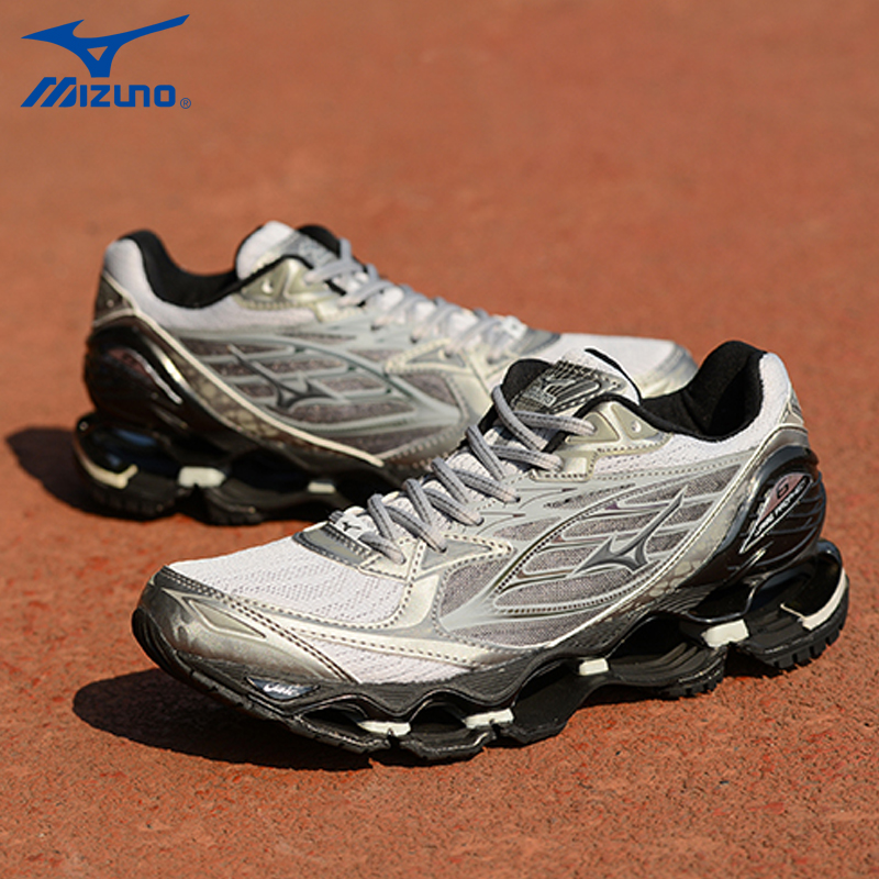 Mizuno Wave Prophecy 6 Professional Weightlifting Shoes Men Sport Sneakers Original Good Quality Sport Sneakers Size 40-45 original mizuno wave prophecy 6 professional weightlifting shoes men sneakers outdoor high quality sport sneakers size 40 45