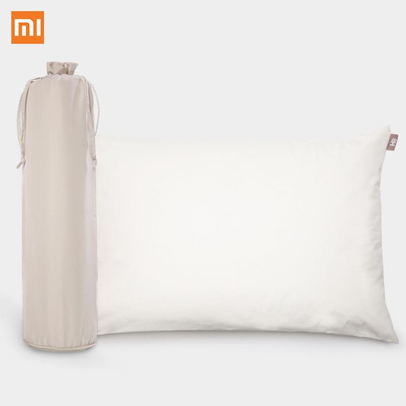 Prix pour D'origine Xiaomi Oreiller 8 H Naturel latex avec taie d'oreiller meilleur respectueux de l'environnement matériel Oreiller Z1 soins de santé Bon sommeil