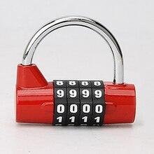 A96 Mejor 4 Dígitos Combinación Práctica Bolsa de Viaje Equipaje Maleta Lock Candado de Seguridad