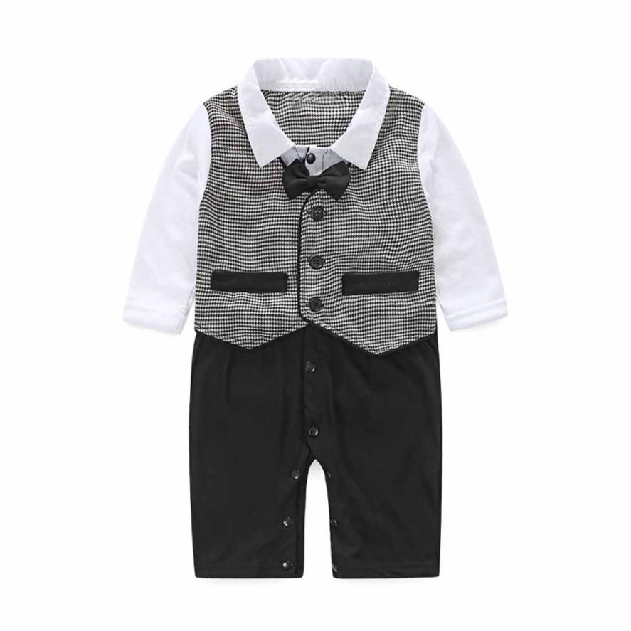 Baby Boy 3 Piece Suit Tuxedo Outfit Christening Wedding Formal Smart Waistcoat