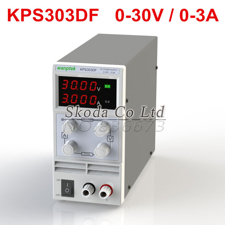 DHL Free shipping precision Compact Digital mini Switching Adjustable DC Power Supply low power 30V3A 110V-230V 0.01V/0.001A cps 6011 60v 11a digital adjustable dc power supply laboratory power supply cps6011