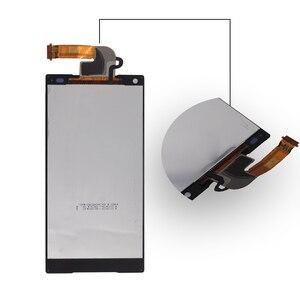Image 5 - Adecuado para Sony Xperia Z5 original pequeño Digitalizador de pantalla táctil LCD para Sony Z5 mini E5823 E5803 pantalla con marco