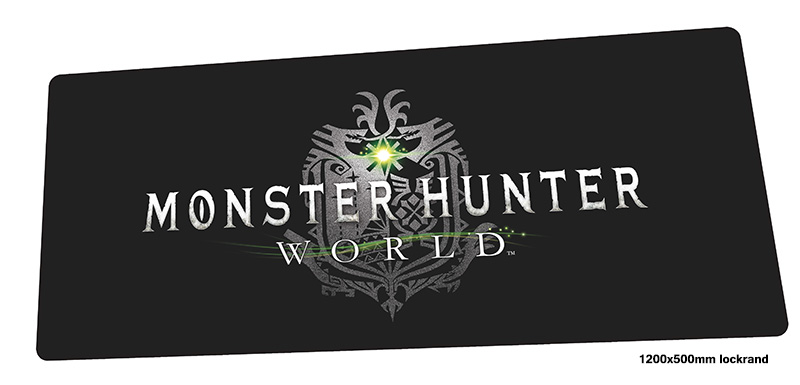 Monster Hunter mouse pad 1200x500mm mousepads Adorable gaming mousepad gamer cool new personalized mouse pads keyboard pc padMonster Hunter mouse pad 1200x500mm mousepads Adorable gaming mousepad gamer cool new personalized mouse pads keyboard pc pad