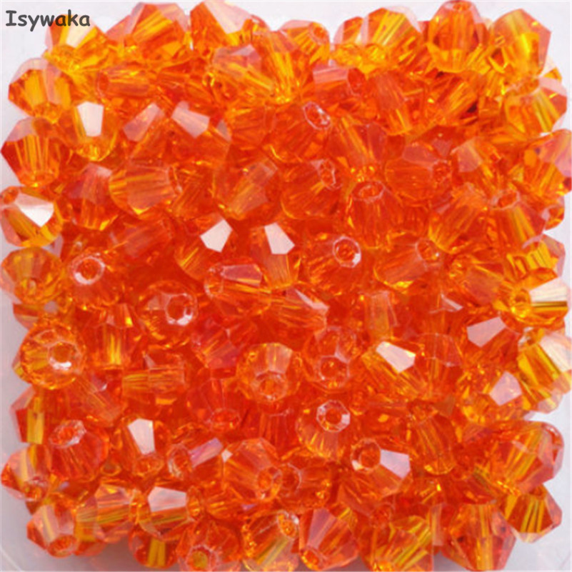 Beads & Jewelry Making Isywaka Dark Red Color 100pcs 4mm Bicone Austria Crystal Beads Charm Glass Beads Loose Spacer Bead For Diy Jewelry Making Jewelry & Accessories
