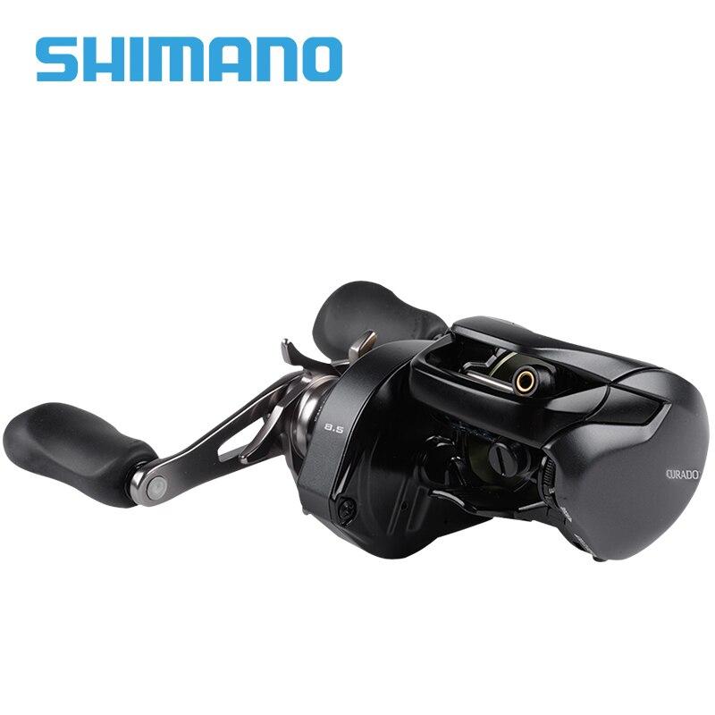 SHIMANO CURADO K carrete de pesca de bajo perfil 201/200HG/201HG 200XG/201XG relación de engranaje 6,2: 1/7 4:1/8,5: carretes de fundición de cebo de 1 6 + 1 bb