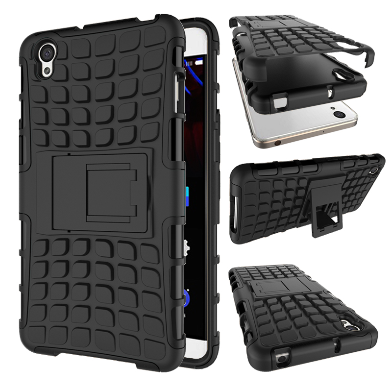TPU Silicone Back Cover Case for Oneplus X Hybrid stand case For Oneplus X Rugged Armor Cover Oneplus X Sport