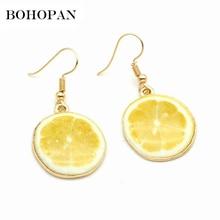 Cute Fruit Drop Earrings For Women 11 Style Acrylic Dangle Girl Oorbellen Brincos Fashion Jewelry Accessories
