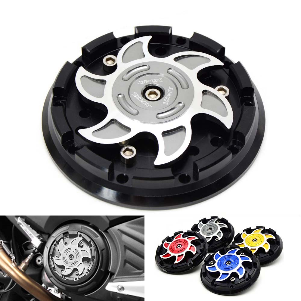 CNC Motorcycle Engine Stator Protective Cover set decoration For yamaha TMAX530 T MAX 530 TMAX 500 T MAX 500 2004 2016 in Covers Ornamental Mouldings from Automobiles Motorcycles